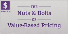 Value doesn't exist in a vacuum. Learn the many factors that go into Value-Based Pricing. http://seanwes.com/147