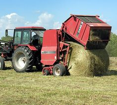Hay Baler-Dad upgraded his equipment after I left for college. Kind of ticked me off then, but looking back now, I really enjoyed it, loved it actually.