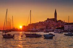 Photograph Sunset Rovinj by Csilla Zelko on 500px