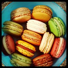 Macarons/Pierre Hermé by daveleb, via Flickr.  Best macarons in the world.  Laduree's got nothing on this guy.