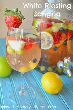 The Savvy Kitchen: White Riesling Sangria
