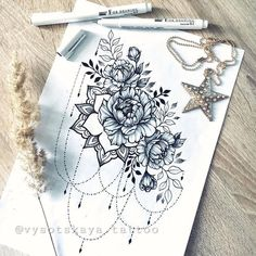 No photo description available. - Tattoo ideen - Tattoo Designs For Women Hip Thigh Tattoos, Floral Thigh Tattoos, Hip Tattoos Women, Side Tattoos, Cover Up Tattoos, Body Art Tattoos, Sleeve Tattoos, Bum Tattoo Women, Back Of Thigh Tattoo