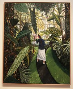 """The Conservatory,"" 1989, by Dallas artist David Bates"
