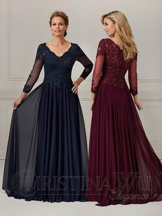 Bridesmaid Dresses, Prom Dresses, Wedding Dresses, Christina Wu, Formal Dresses With Sleeves, Lace Bodice, Lace Applique, Lace Fabric, Mother Of The Bride