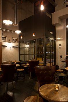 MARSHALL&CO Coffee&Drinks  #interiorismo #diseñodeinteriores #branding #mobiliario