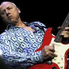 """Mark Knopfler A fingerpicker who favors Fender Stratocasters — a Knopfler-designed Strat was introduced in July as part of Fender's """"Artist Series"""" — he's known for his rich tone, sinuous melodicism and rangy, fluid solos."""