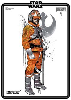 ADDICT STAR WARS Luke by Mitchy Bwoy art