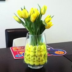 Easter peep flower arrangement!