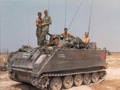 """Photo tag: """"... M113 APC, A Co, 2/22nd Infantry """"Triple Deuce"""" 25th Infantry Division """"Tropic Lightning"""" , Vietnam /Gary O'Rourke collection/. ...."""" Another shot of the same APC: via ~ The NAM (Bob B.)"""