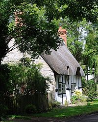 The Old Post Office, in Dorsington, Warwickshire, England