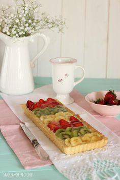 Tarta con frutas frescas | Cocina