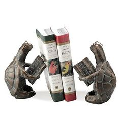 Amazon.com: Scholarly Turtle Bookends (pair): Home & Kitchen