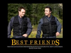 Stargate Atlantis Besties-  . :-( can't believe that Carson got killed off.