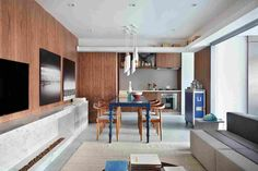 Апартаменты от архитектурного бюро Guilherme Torres