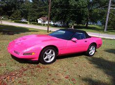 corvette I had a Barbie car like this one! corvette I had a Barbie car like this one! corvette I had a Barbie car like this one! corvette I had a Barbie car like this one! corvette I had a Barbie car Pink Corvette, Chevrolet Corvette, My Dream Car, Dream Cars, Pink Clocks, Barbie Car, Future Transportation, Barbie World, Pretty In Pink