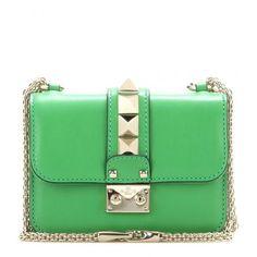 Schultertasche Lock Mini Aus Leder #bag #women #covetme