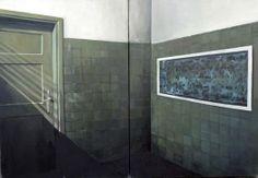 Katarzyna Bąkowska-Roszkowska, 'From water queries series 12, 120x140 cm, oil on canvas, 2010