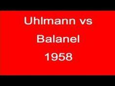 Wolfgang Uhlmann vs Ion Balanel - 1955