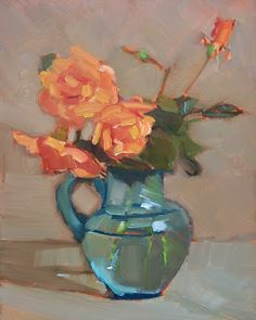 Maryann Lucas - Orange Roses