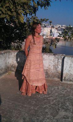 Khadi dress Summer dress Cotton dress Hippie dress tribal