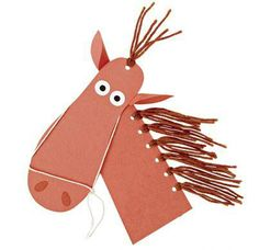 Shoe-print pony craft for kids