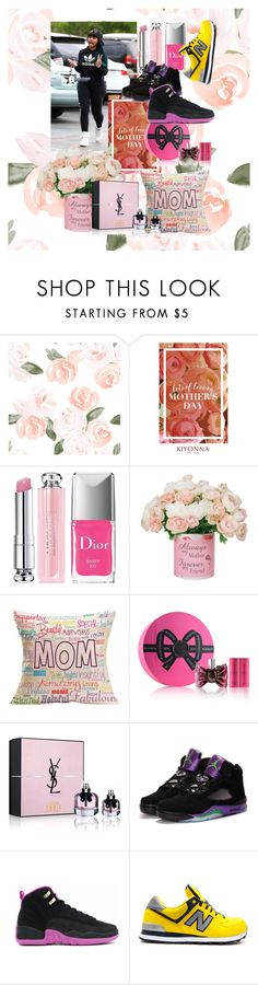 """""""Happy mothers day mom-Tobi"""" by onfleeklover21 on Polyvore featuring beauty, Kiyonna, Christian Dior, Viktor & Rolf and Yves Saint Laurent"""