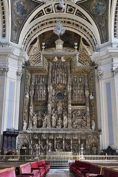 Catedral de Santo Domingo de la Calzada. Retablo de Damián Forment.