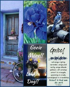 Good Morning Wishes, Good Morning Quotes, Lekker Dag, Evening Greetings, Afrikaanse Quotes, Goeie Nag, Goeie More, Special Quotes, Funny Kids