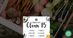 Check out EWG's Clean Fifteen list to help decide when you can save money by buying conventional fruits and vegetables – part of our annual Shopper's Guide to Pesticides in Produce™