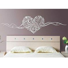 jiubai ™ de motif de coeur sticker mural de décalque de mur - EUR € 20.90