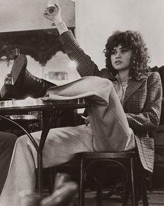 Maria Schneider in Last Tango in Paris Maria Schneider, 60s And 70s Fashion, Vintage Fashion, Business Fashion, Business Women, Last Tango In Paris, Films Cinema, 70s Aesthetic, Tips & Tricks
