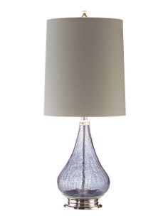 Amethyst Table Lamp by John Richard at Gilt