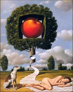 * Rafal Olbinski - - - In reverent Inventi