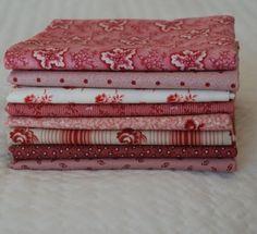 civil war fabric fat quarters | Fat Quarter Bundle Bubblegum Pinks 1800s/Civil by NauvooQuiltCo