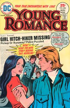 Sequential Crush: Serious Topics in 1970s Romance Comics - Girl Hitc...