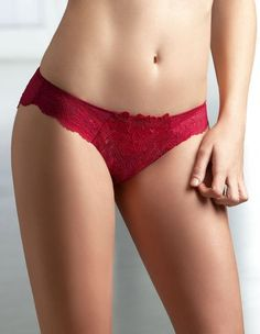 Pin It! :) Click Image Twice For More Info and Pricing :) #women #panties #lingerie #lace #lace #sexylingerie #intimates #silk #satin #red #undergarment #honeymoon #bikini #satin #hipster see more red panties at http://zpanties.com/category/panties-categories/red-panties/ - Antinea Femme d'Influence Rouge Lace Brief CCA0760 M (10 US) / M (12 UK) « Z Panties