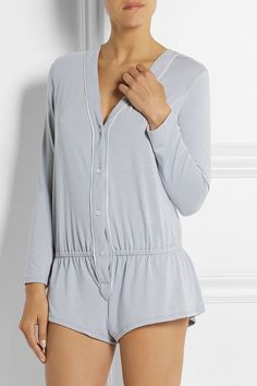 Giselle Stretch-Jersey Playsuit