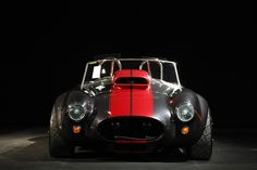 Poster of Ford Shelby AC Cobra Front Grey HD Print by TimelessShop
