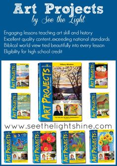 See the Light: Outstanding Biblically-Based Art Curriculum With High School Credit