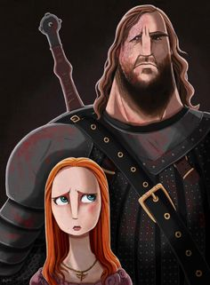 The Hound and Sansa