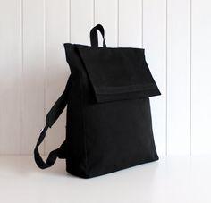 2013 Backpack bag in Black / Unisex / Men / Laptop by bayanhippo, $47.00