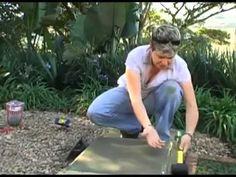 Как сделать ступеньки в саду самостоятельно - YouTube