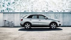 The Audi Q3 – the urban way to go offroad: powerful, versatile, compact and efficient. Strong and expressive. Source: Audi AG