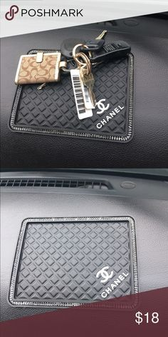 Darling Non Skid Mat for dash! I love mine. I have 1 left still in package. FAST DELIVERY. Great for your Car or a Holiday Gift has boarder bling Accessories