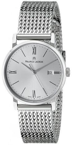 Maurice Lacroix Women's EL1084-SS002-110 Eliros Analog Display Analog Quartz Silver Watch