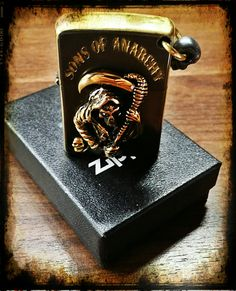 Custom Zippo  SAMCRO SOA Sons of Anarchy  By SCP