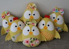 Adorable chickies plush