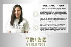 MEET THE STAFF! Kaitlyn Ferm! by ourtribeathletics