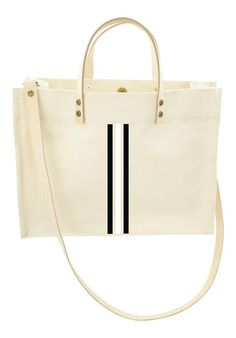a80cceffa90f Classic Tote Crossbody- Thin Racer Stripes Black and White Navy Crossbody  Bag