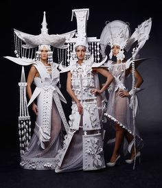 Stunning Paper Clothing And Accessories by Asya Kozina http://designwrld.com/stunning-paper-clothing-and-accessories-asya-kozina/